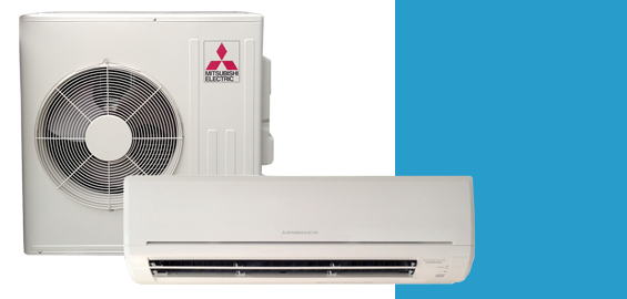 We proudly carry Mitsubishi ductless mini-splits.