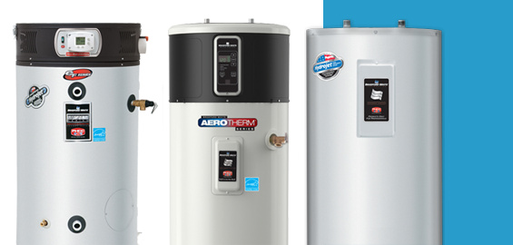Tank water heaters are reliable and efficient!