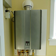 Rinnai tankless water heater services.