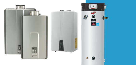 Start enjoying hot water in your home with a high-efficiency water heater.